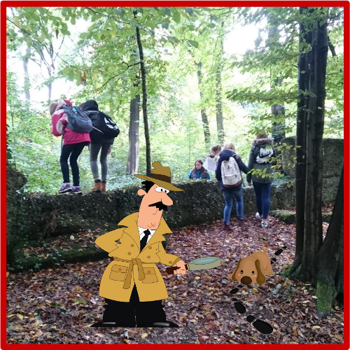 Mord im Park - Geocaching Schnitzeljagd - Bonn